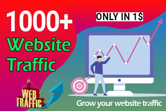 1000+ Worldwide Website Traffic