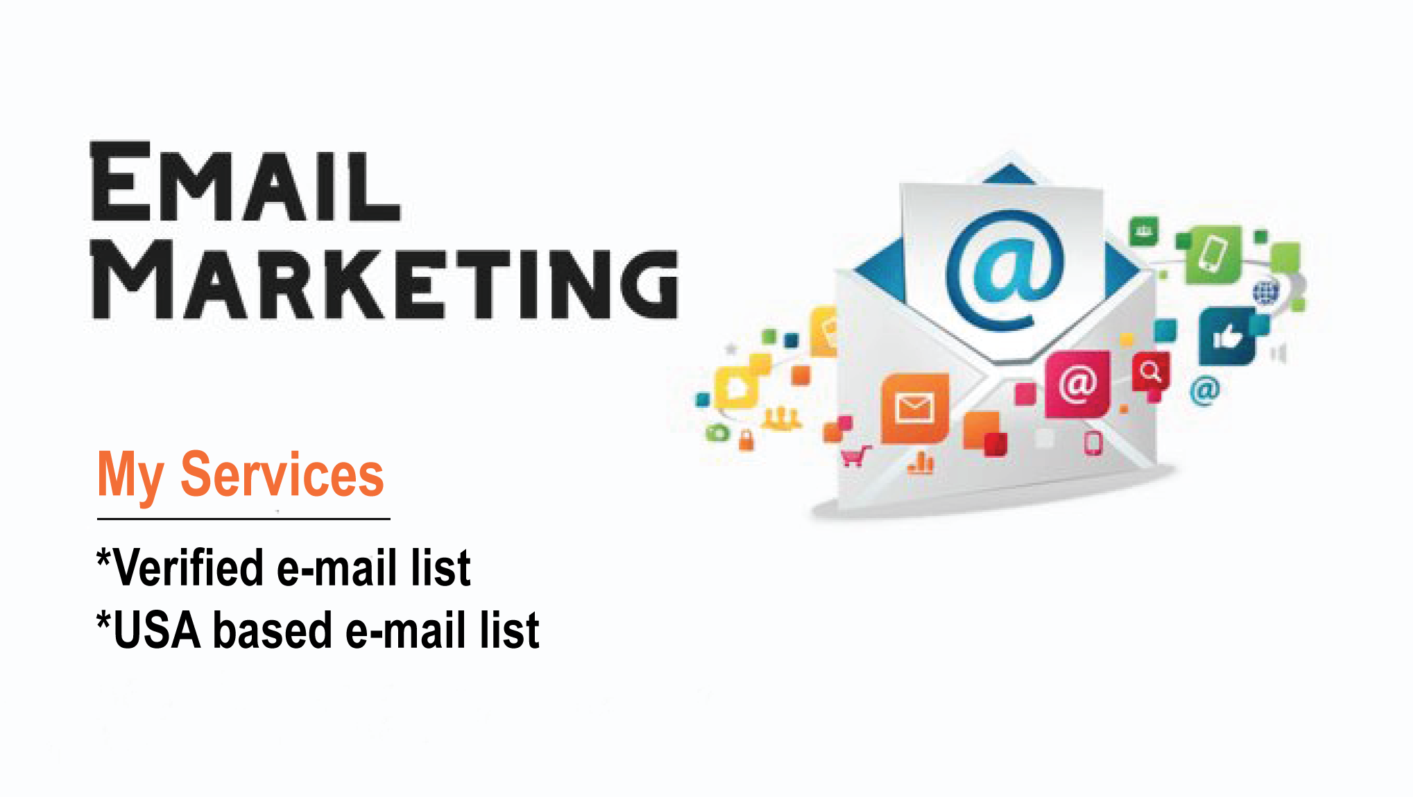 I will provide 1000 USA based valid email for you