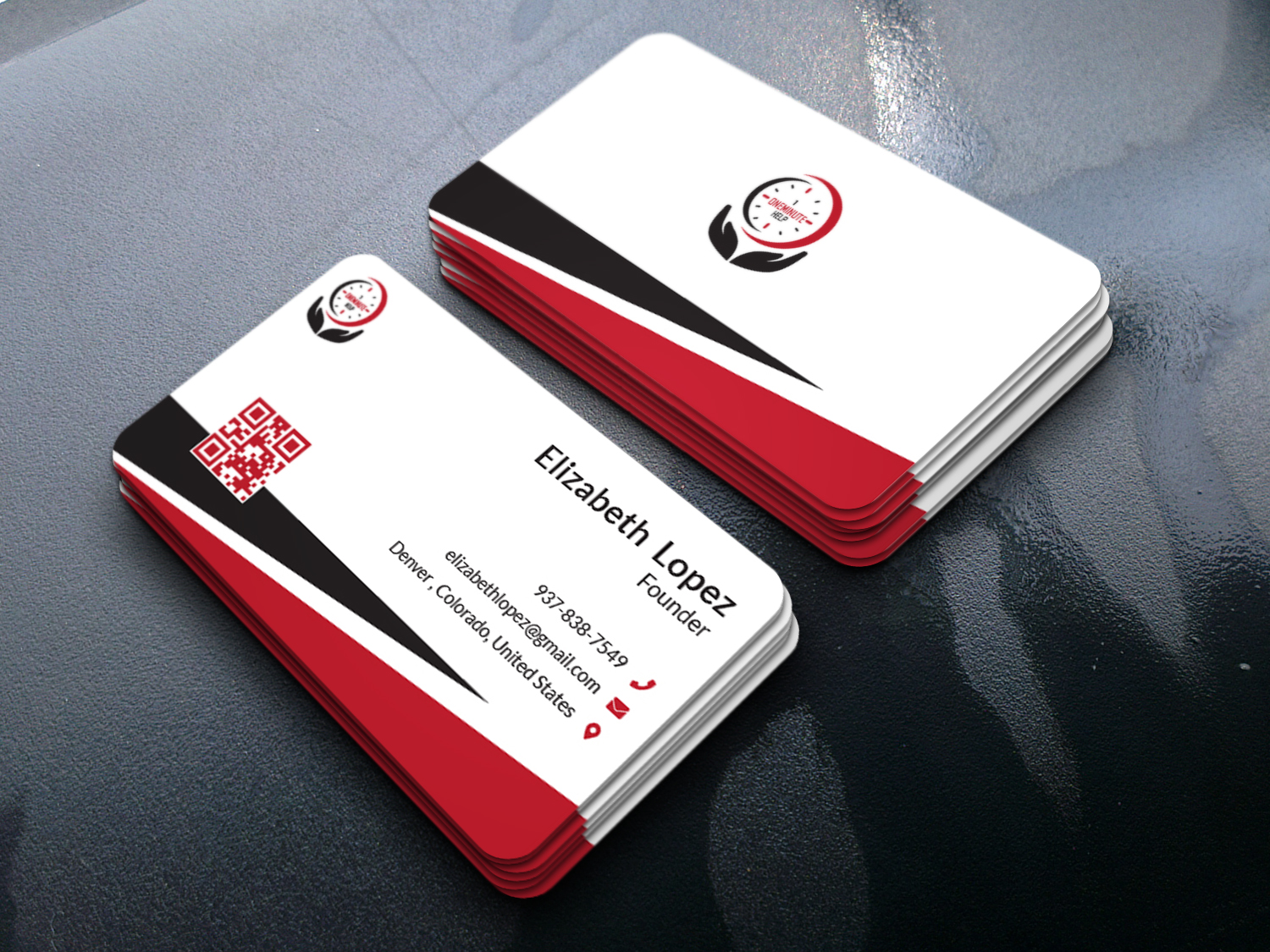 I will provide you professional business card within 2 days