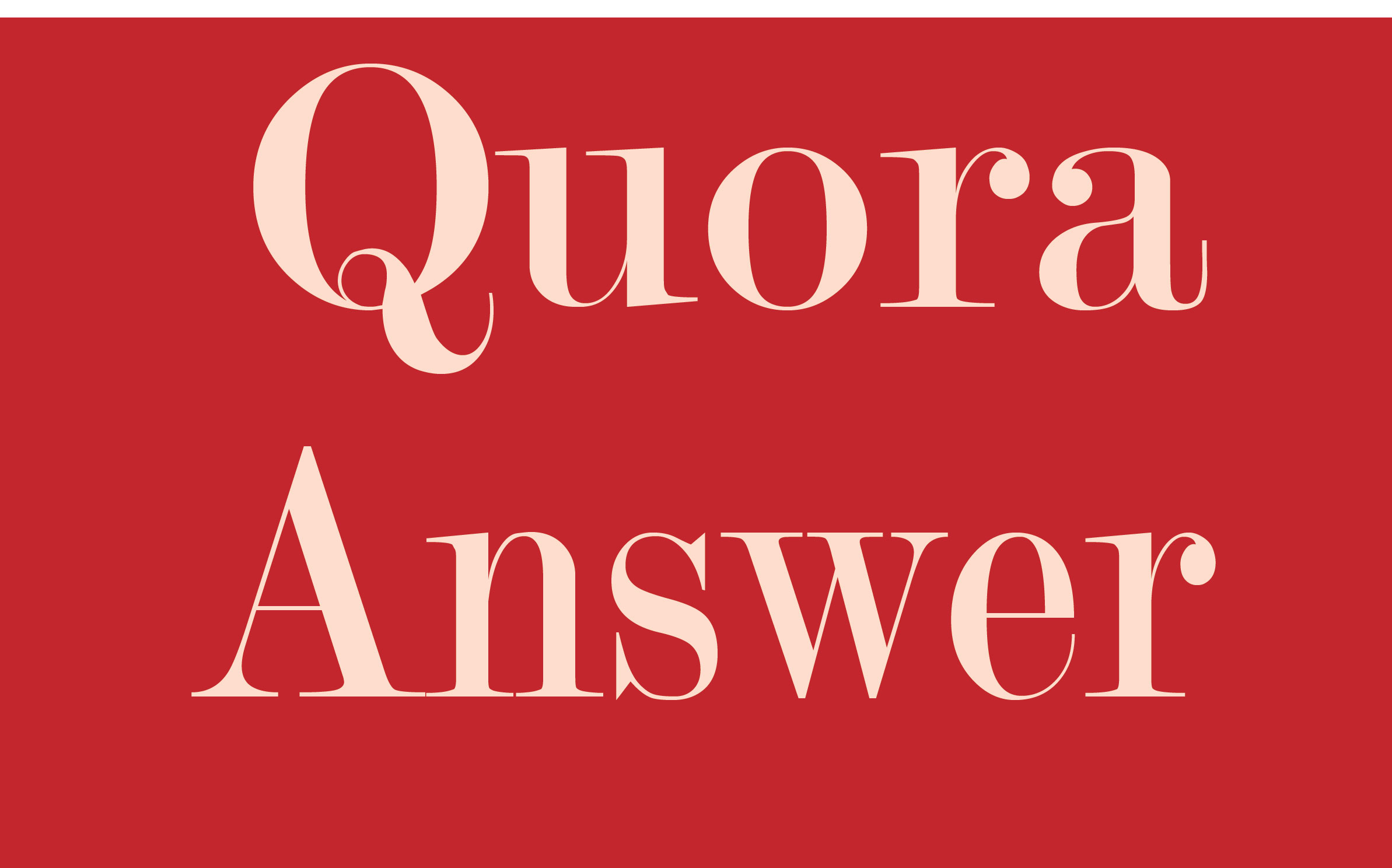 Offer niche relevent traffic with 35 quora answers