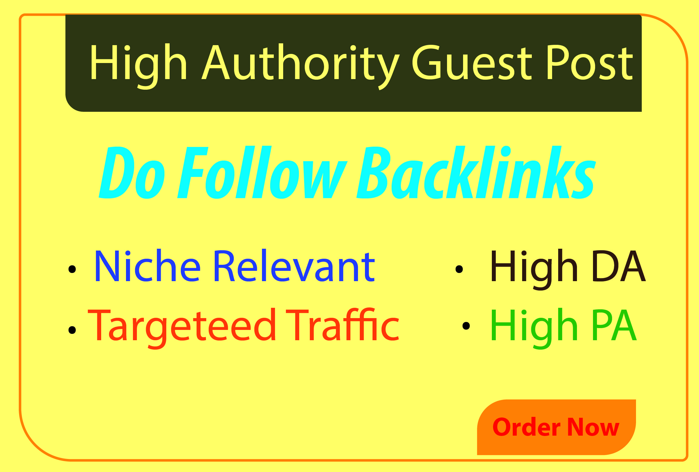 I will write and publish 1 niche guest post on high authority sites