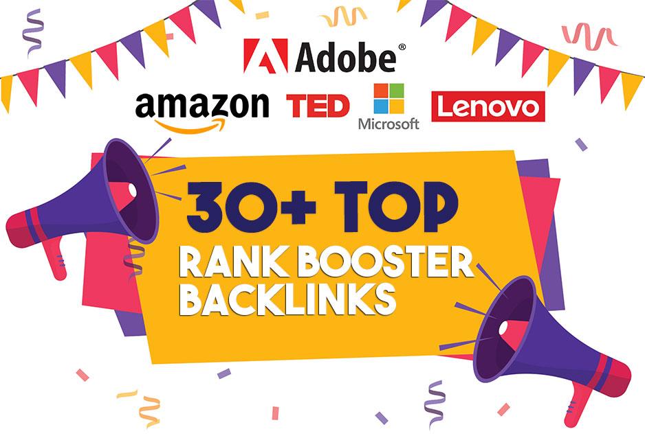 build high quality 30 dofollow SEO backlinks link building google top ranking