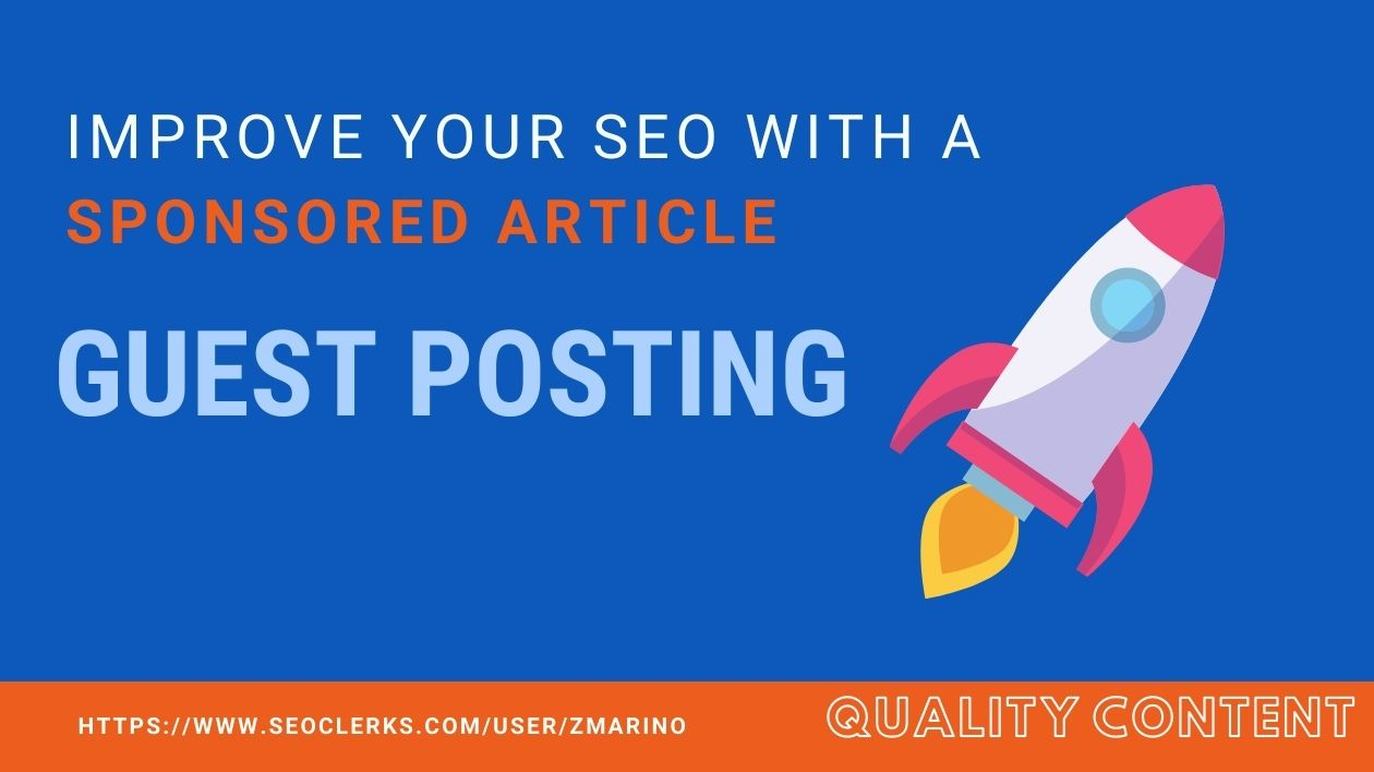 I will improve your SEO by posting an article on my Blog PBN