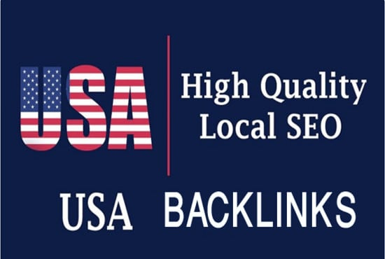 30 USA high da pr backlinks,  safe seo link building