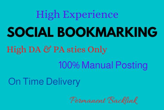 45 High PR TOP Social Bookmarking Backlinks for website
