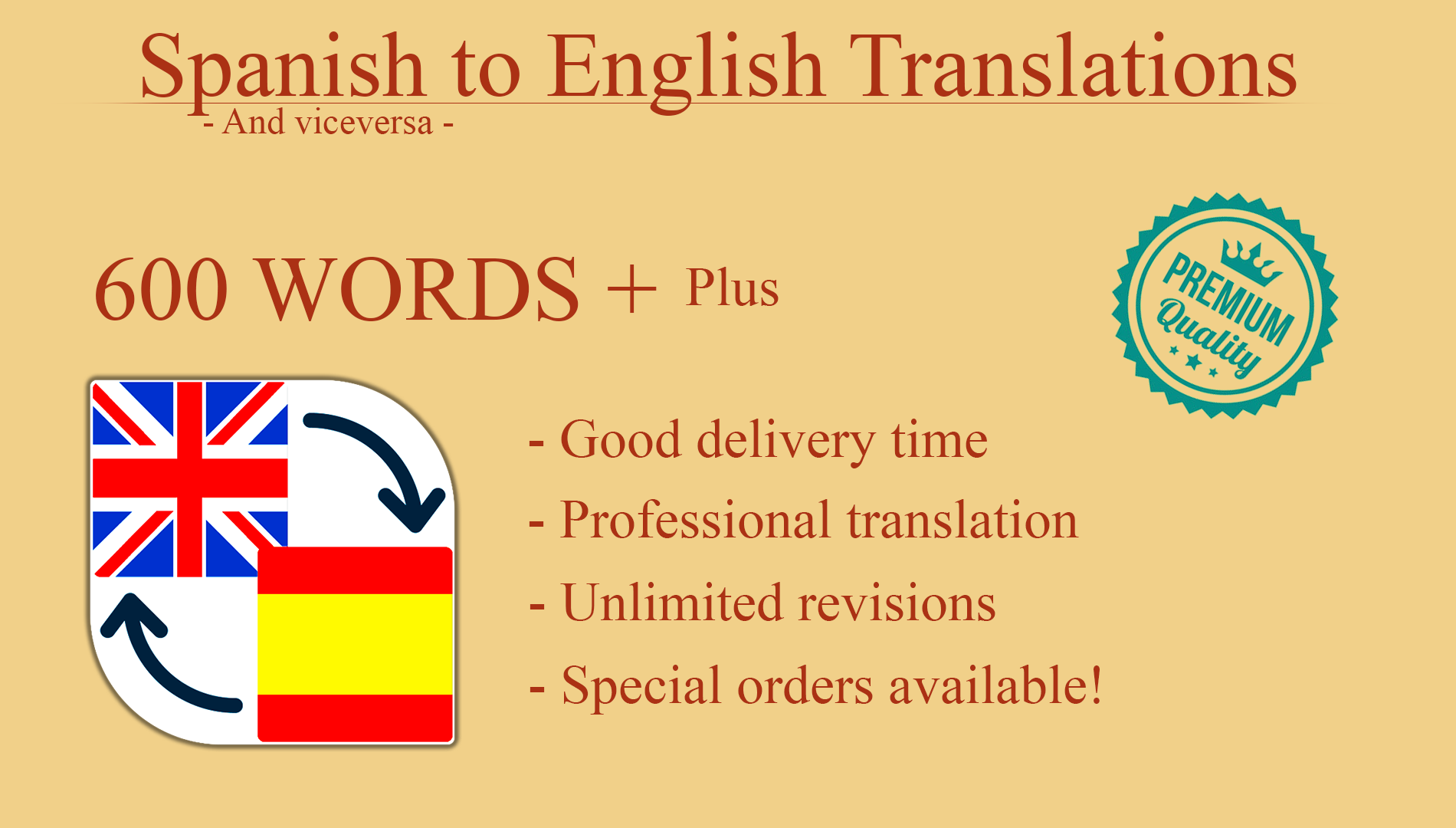 Professional translation from English to Spanish and viceversa 600w +