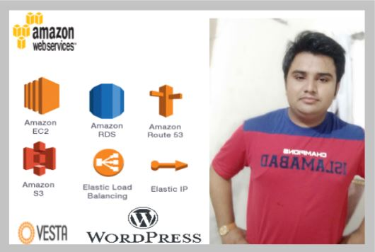 AWS Engineer I will install Vesta WordPress on ec2 and will upload static website on s3.