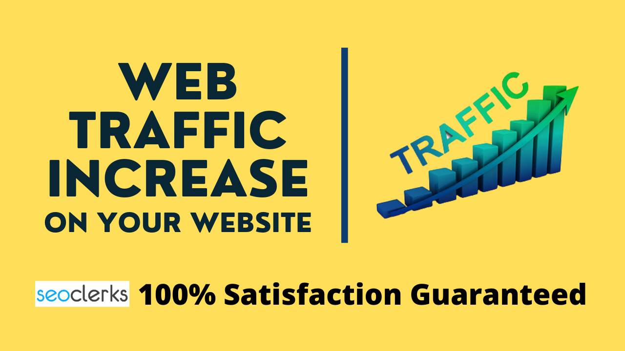 I Will Provide 500 Organic Web Traffic On Your Website