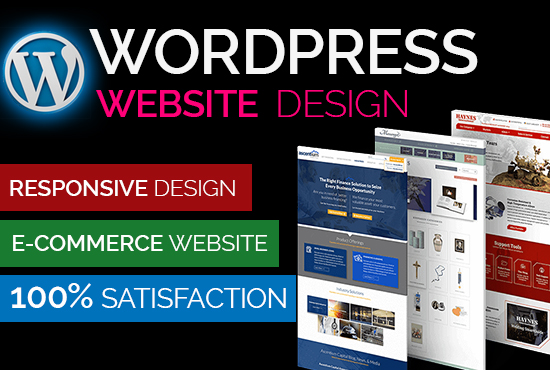 I will design or redesign website