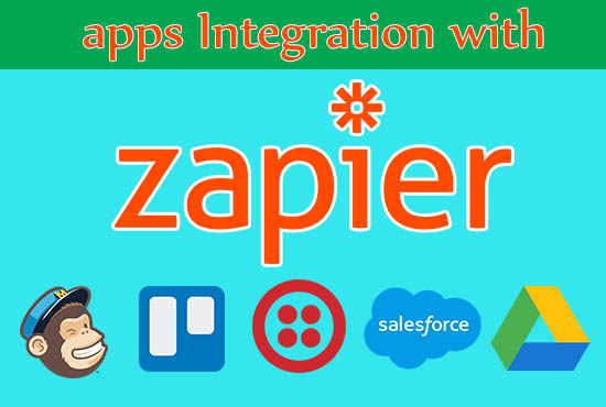 I will integrate your apps using Zapier zap to automate workflow