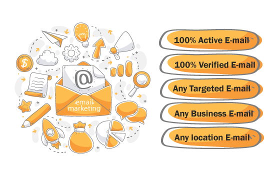 collect targeted email list for any niche,b2c, b2b,country in 24 hours