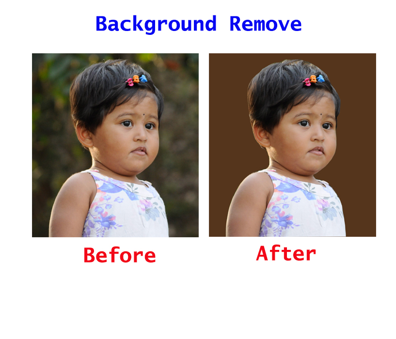 I will do special and professional 4 Images background remove for you