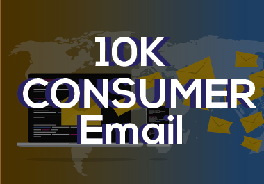 I will provide 10K consumer email for you