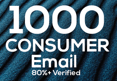 I will provide 1K verified Restaurant & Consumer email