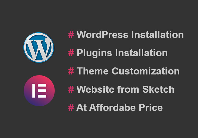 I will make a WordPress website with Elementor Pro.