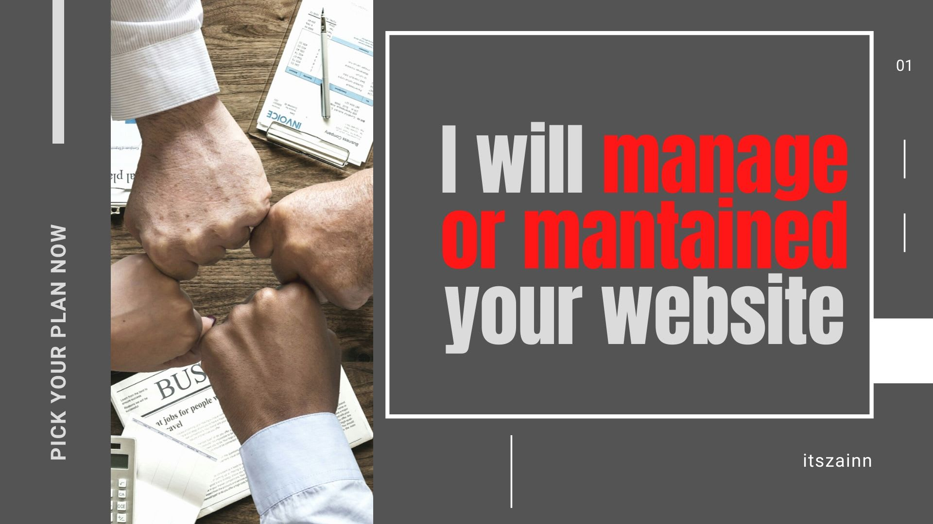 I will well-managed your website and make it well-maintained website