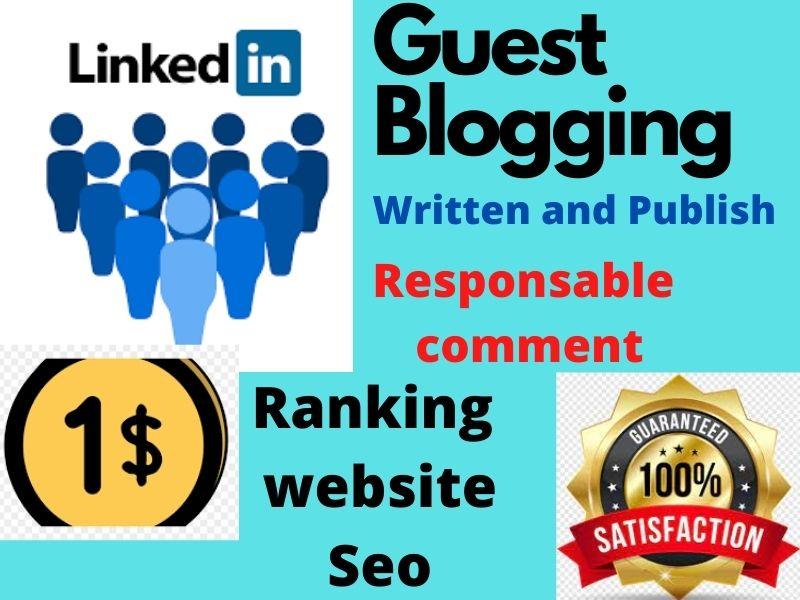 I will Write and Publish seo base article on Linkedin pulse succesfully