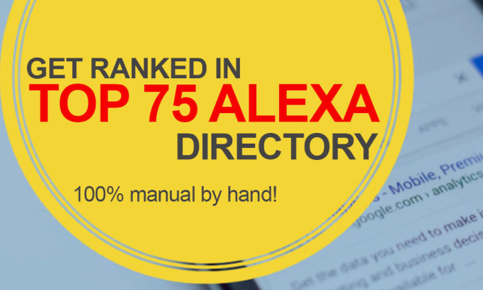 Submission to Top 75 Alexa Ranking Sites Manually