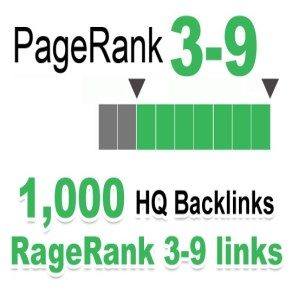Provide 1000 HQ PR 3-9 backlinks