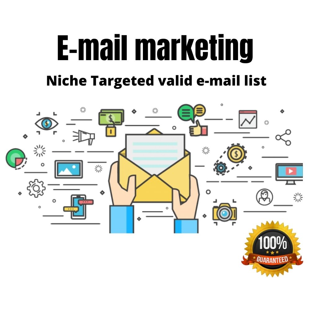 I will provide you niche targeted clean & verified 5k e-mail as you need