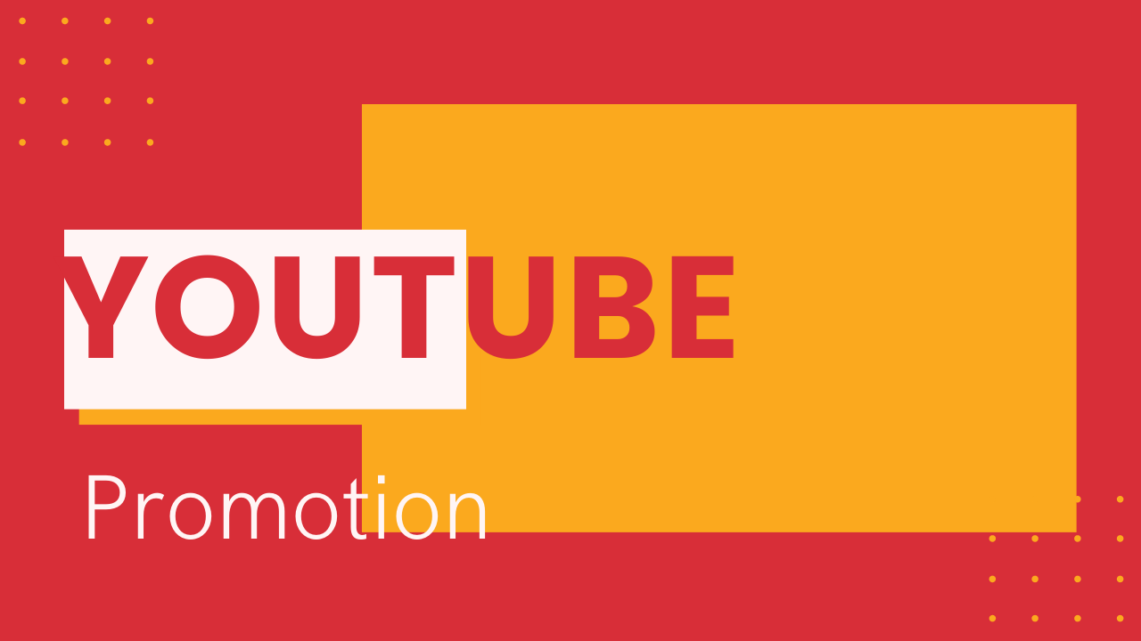 I will provide 100 real & organic YouTube video promotion.