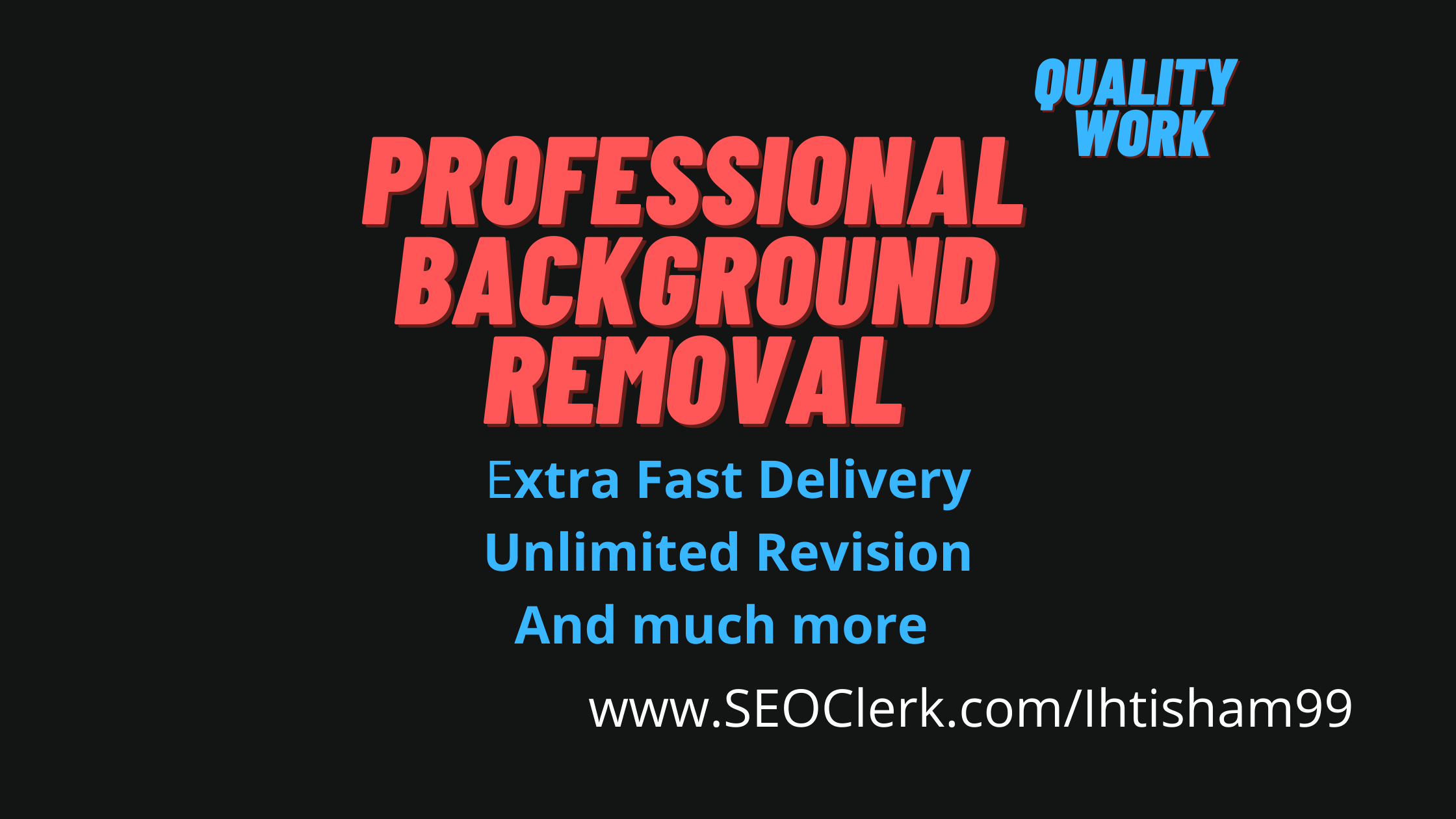I will do professional photo background removal,  color correction
