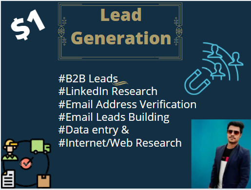 I will provide 5K targeted lead generation & Email list