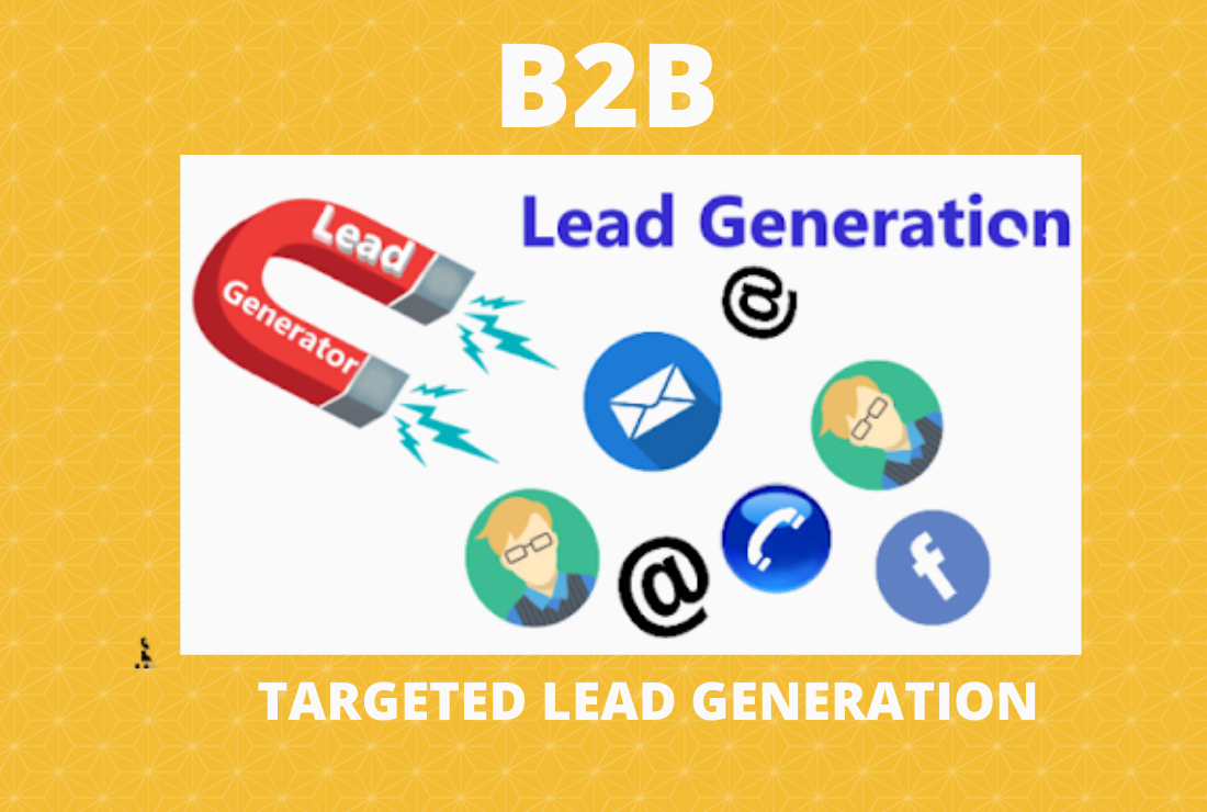 I will do 50 b2b lead generation and targeted lead