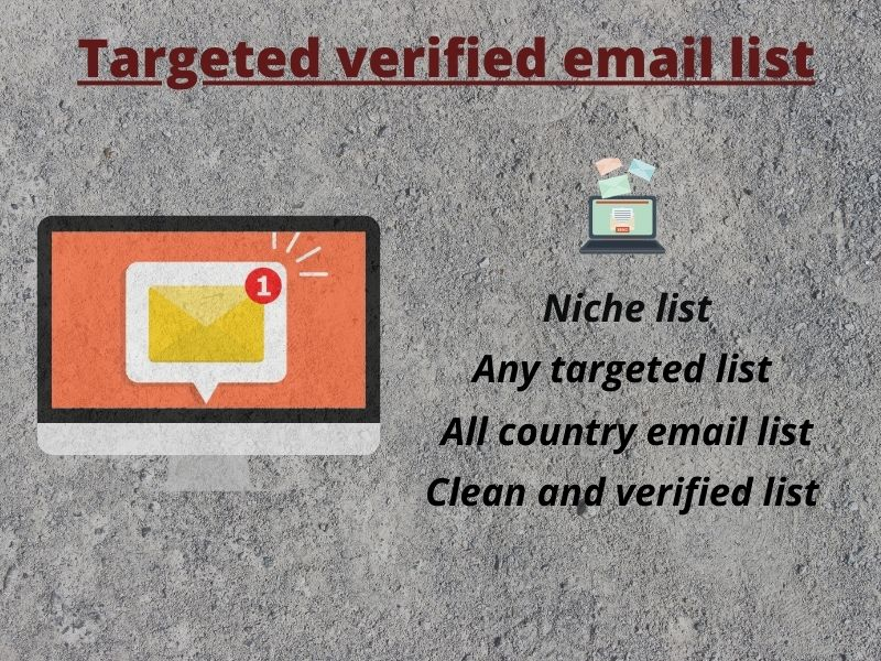 I will provide you 1000 active consumer email list