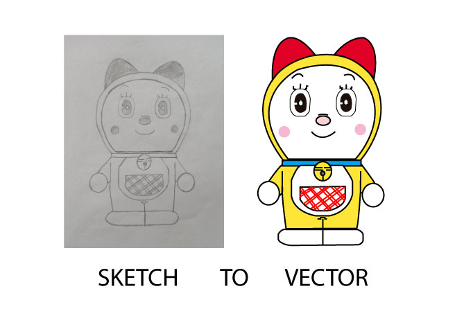 I will do any image or sketch to a vector logo
