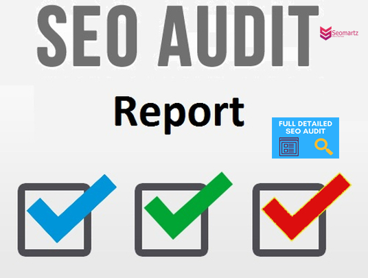 In-depth SEO audit report - optimize your web page