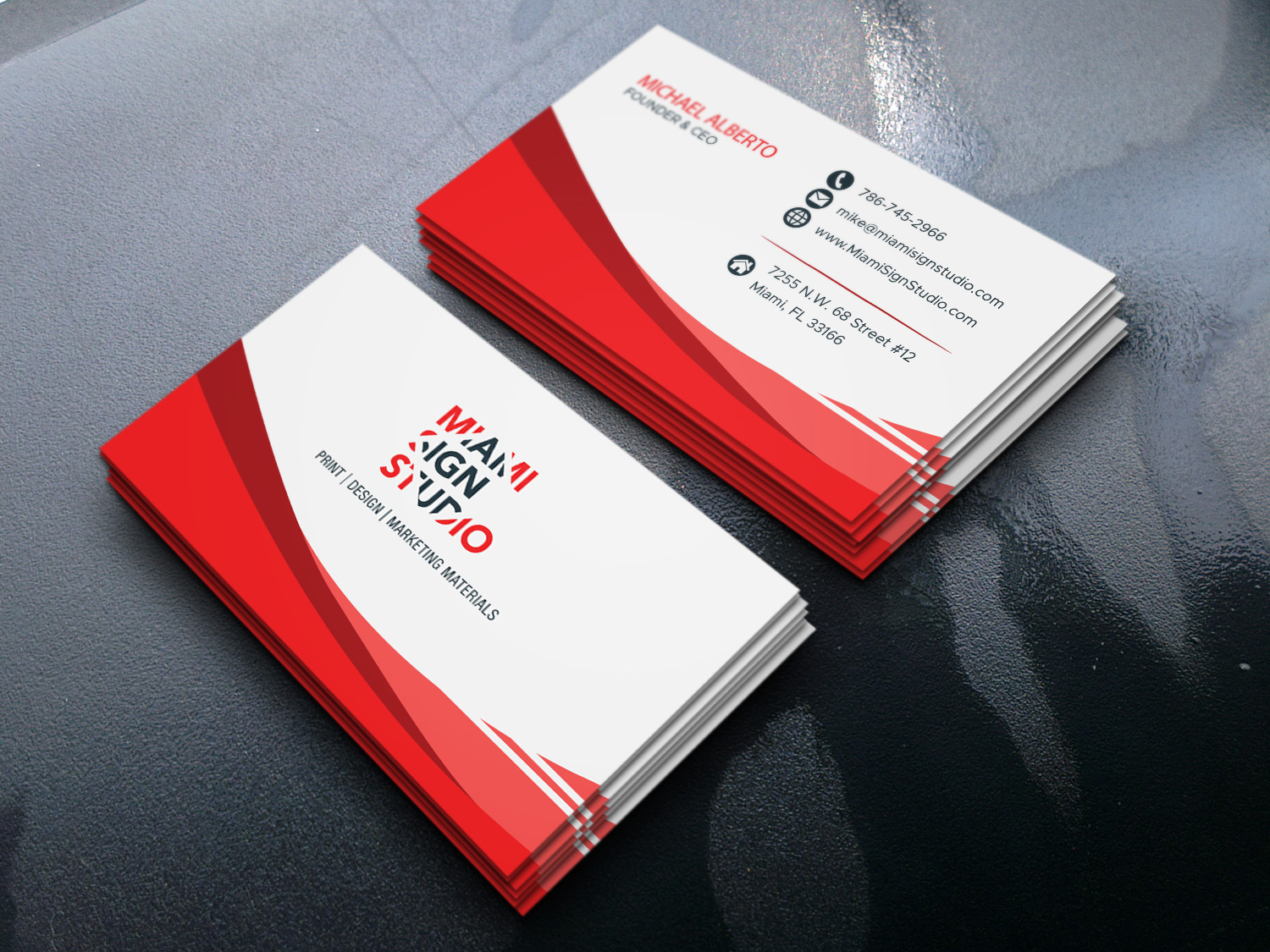 Design a Professional Business Card and Visiting Card
