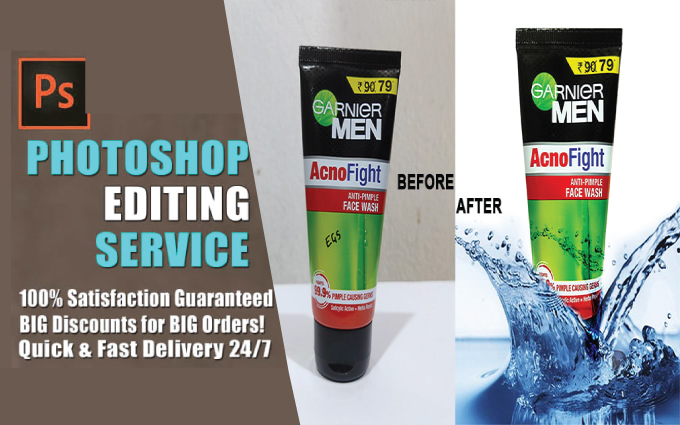 Product Image Editing,  Retouching and Shadow Creating Service