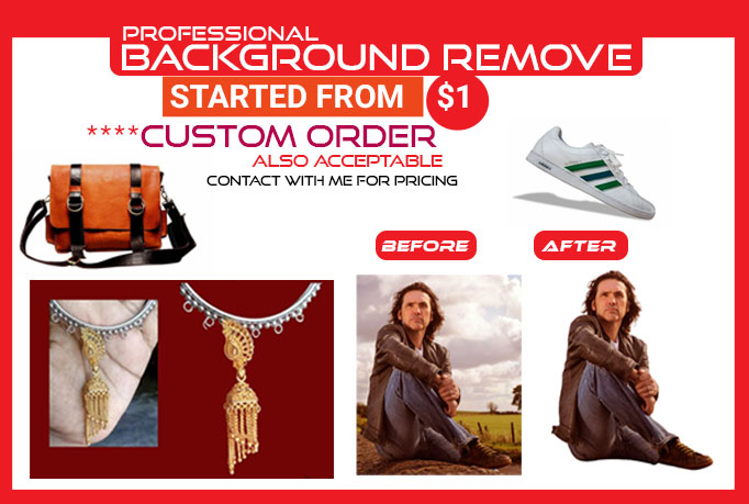 I will Remove Background of your Product and Hair Masking Professionally
