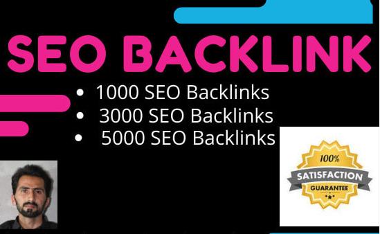 make 1000 dofollow SEO backlinks