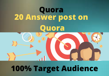 Guaranteed targeted traffic best 20 quora answer.