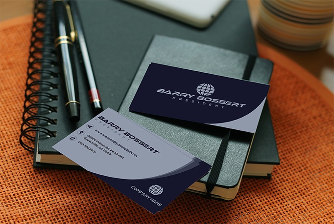 I will do professional modern minimalist business card