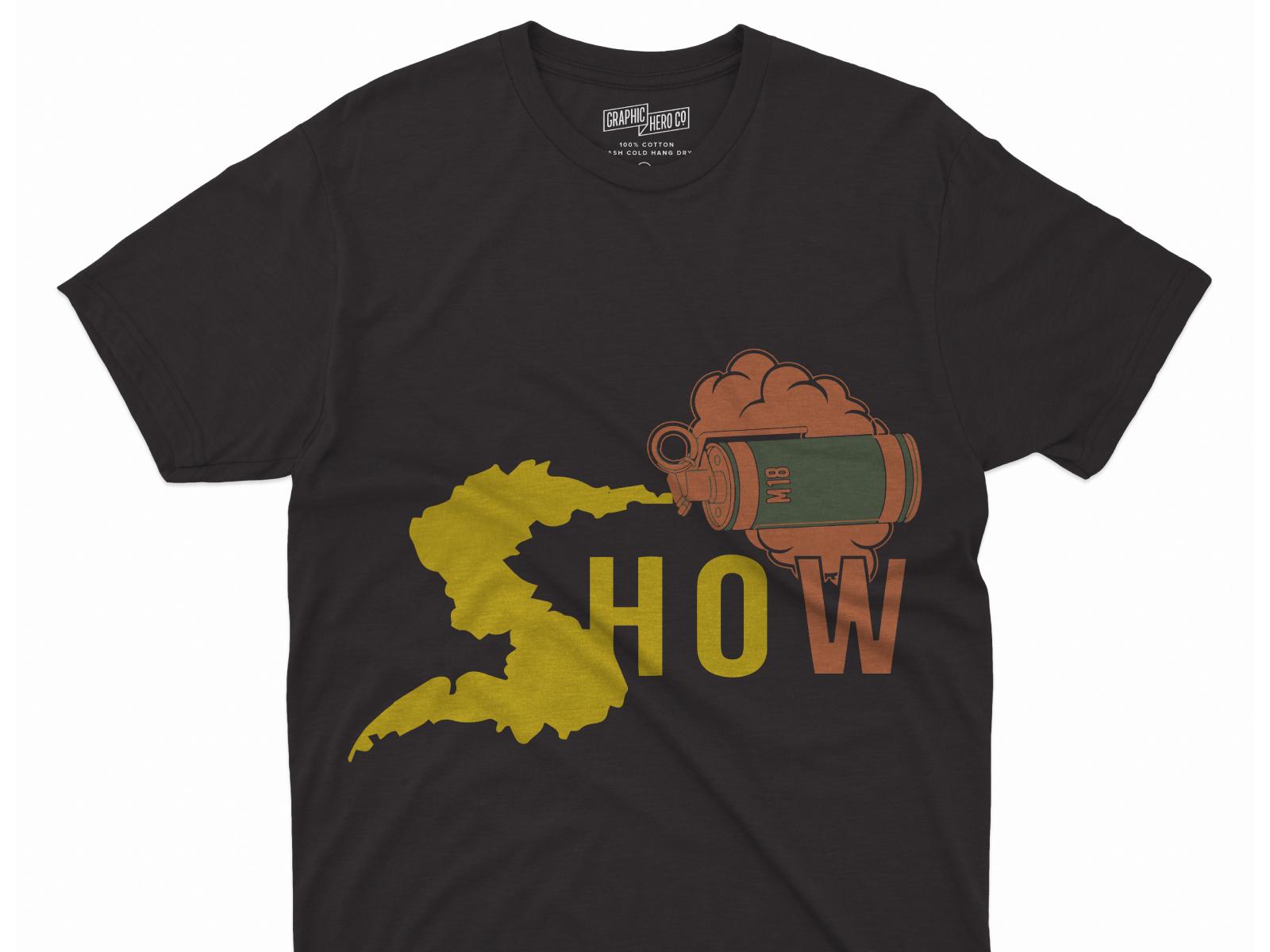 I will professionally design custom,  trendy t-shirt