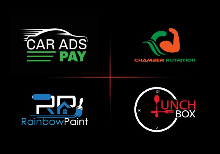 I will design custom creative modern minimalist unique brand logo