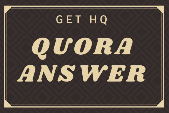 Promote Your Site with 50 Quora Answer for Getting Targeted Traffic
