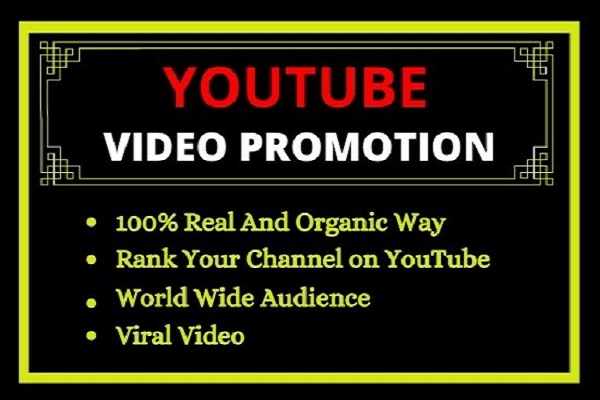 I will viral your youtube video with organic way