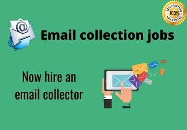 I will collect niche and location-targeted email lists clean and verified.