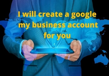I will create and manage google my business page for you.