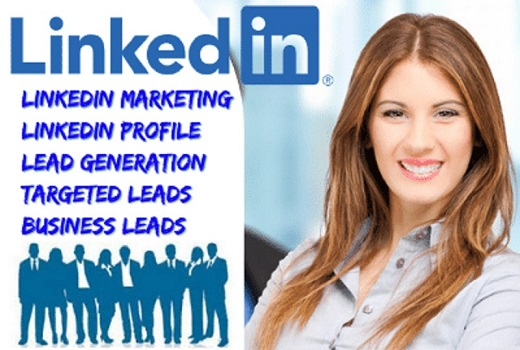 I will do LinkedIn leads generation,  sales leads,  business leads,  profile and marketing