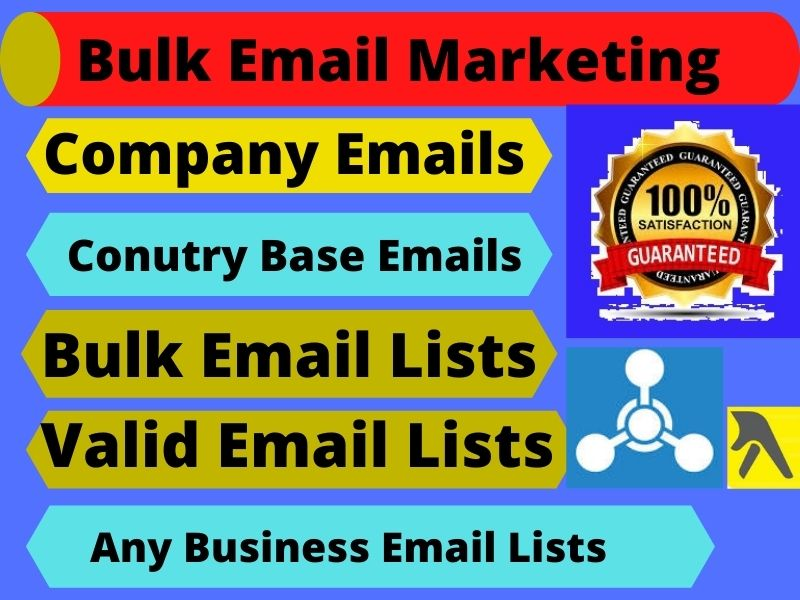 I Will Do Provide 1000 Bulk Email Lists