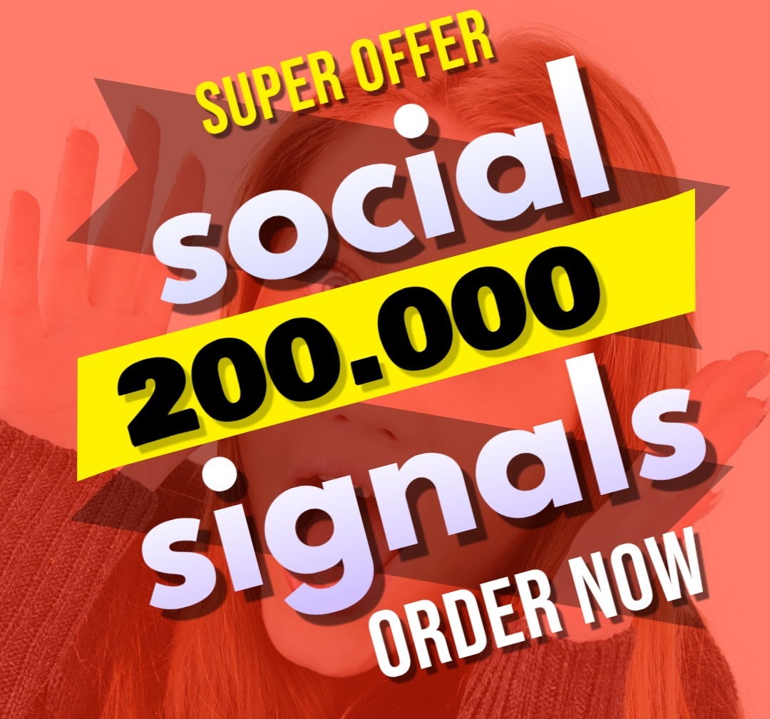 Great Top 1 Powerful Platform 200,000 SEO Social Signals Share Bookmarks Important Google Ranking