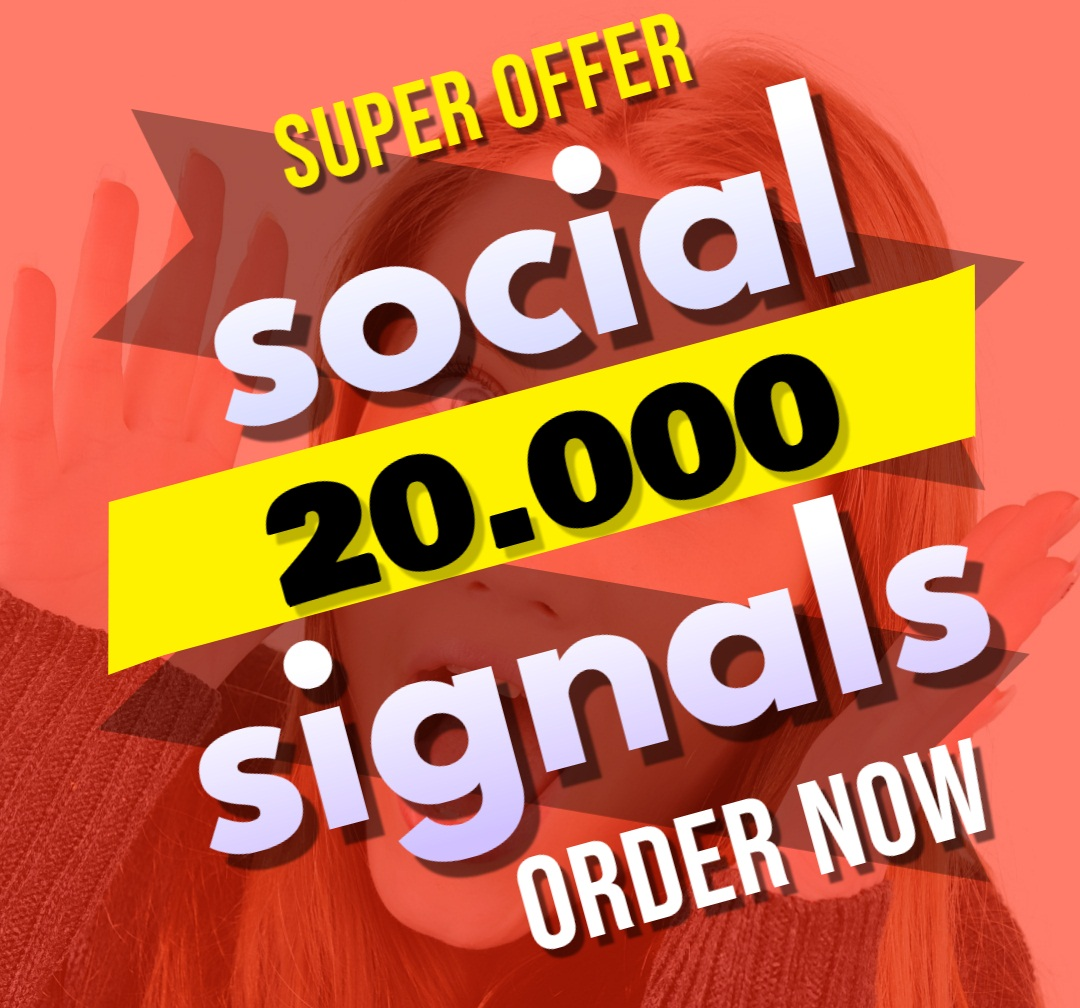 Great Top 1 Powerful Platform 20,000 SEO Social Signals Share Bookmarks Important Google Ranking