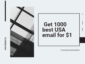 I will provide 1k best USA Fresh Email