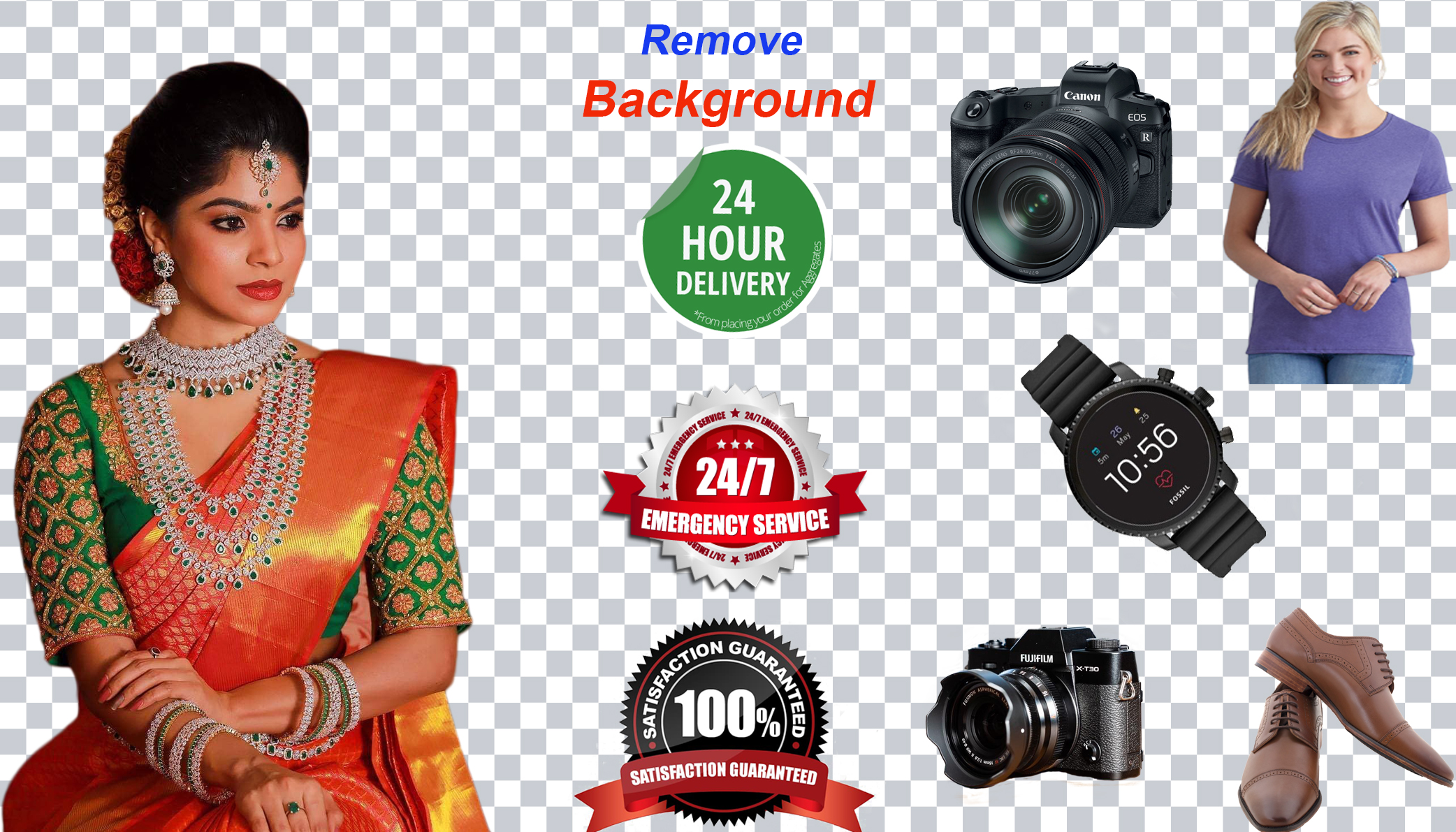 I will provide you Background remove & photo retouchment Service for your satisfaction