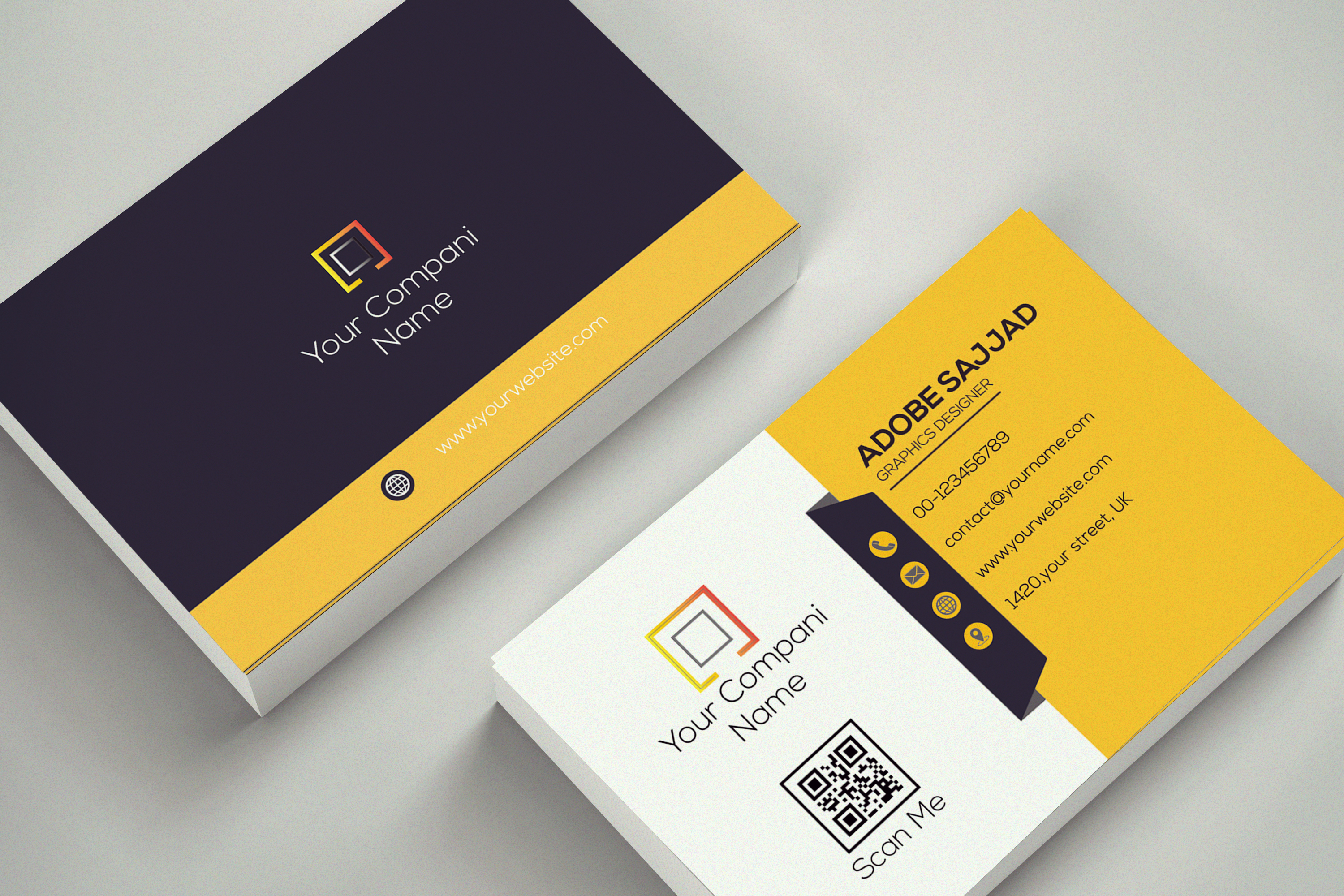 I will provide you unique, professional and elegant business card design